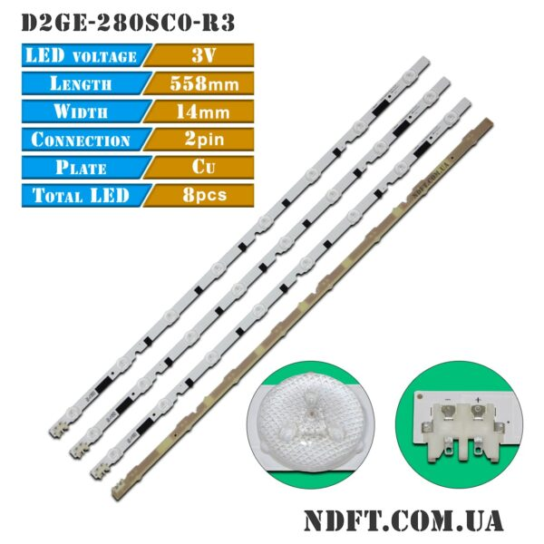 LED подсветка D2GE-280SC0-R3 2013SVS28H 01