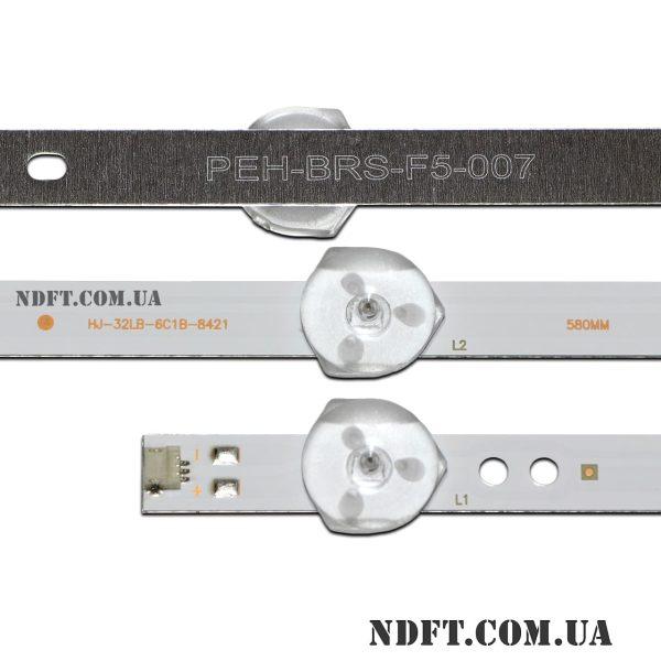 LED подсветка HJ-32LB-6C1B-8421 3V 02