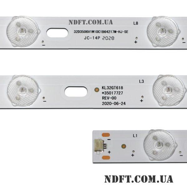 LED подсветка KL32GT618 REV-00 02