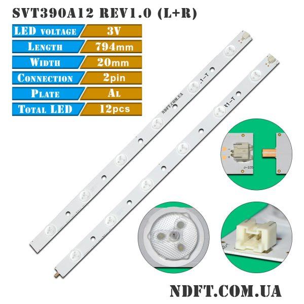 LED подсветка SVT390A12 Rev1.0 01
