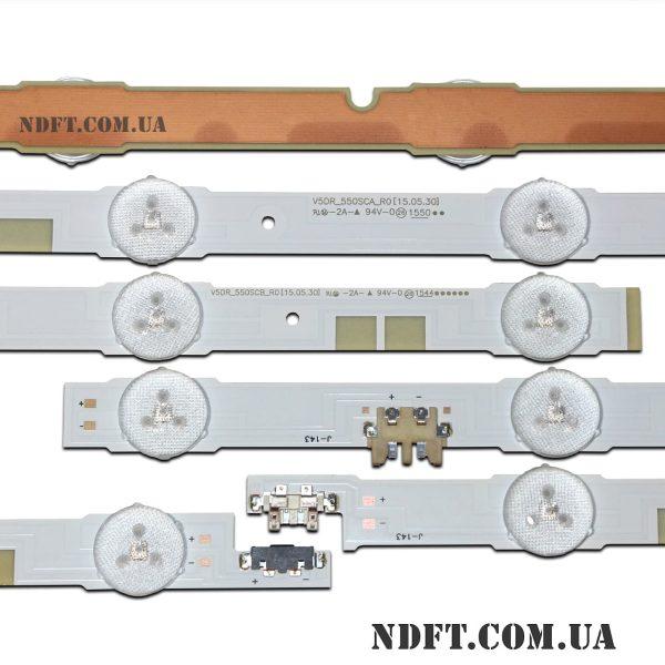 LED подсветка V5DR_550SCA_R0 V5DR_550SCB_R0 02