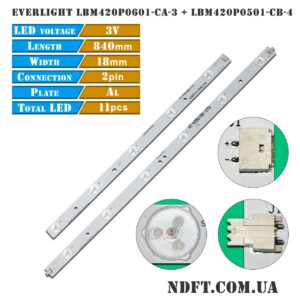 LED EVERLIGHT LBM420P0601-CA-3 LBM420P0501-CB-4 01