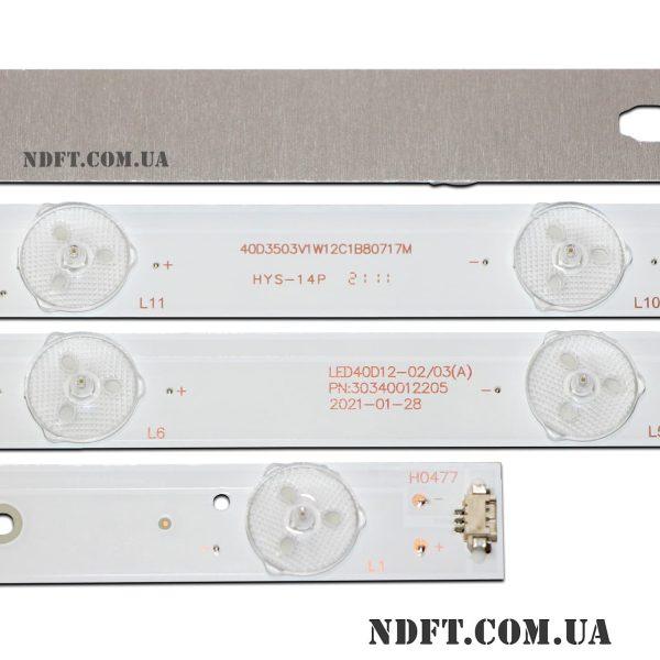 LED подсветка LED40D12-02/03(A) PN:30340012205 02