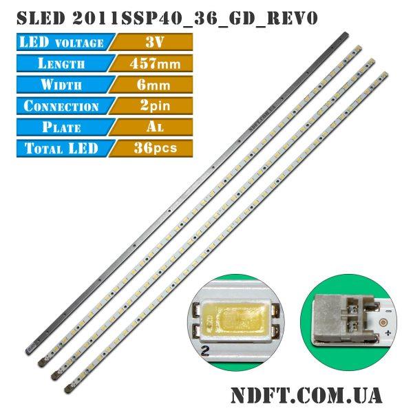 LED подсветка SLED 2011SSP40_36_GD_REV0 01