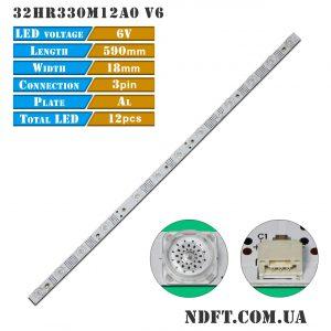 LED подсветка 32HR330M12A0 V6 01
