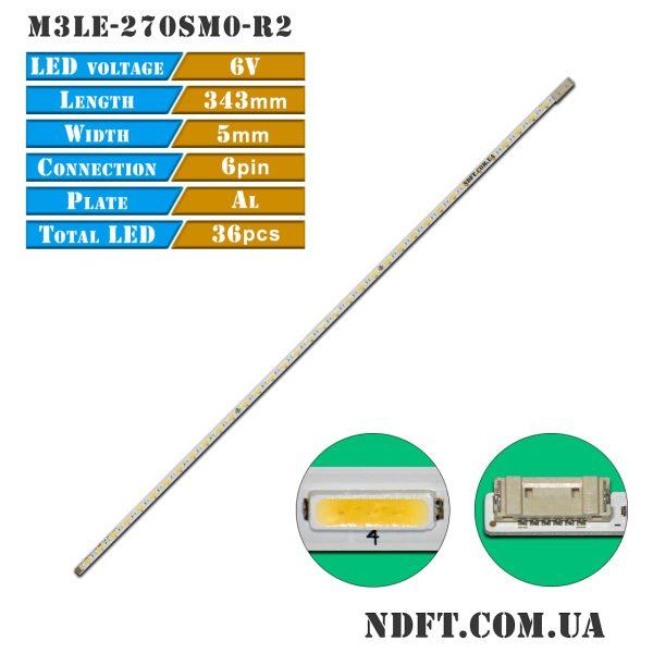 LED подсветка M3LE-270SM0-R2 01
