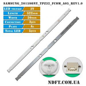 LED подсветка SAMSUNG-2015SONY-TPZ32-FCOM-A05-REV1.0 01